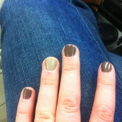 Photo taken at Brookline Natural Nails by Rebecca M. on 1/16/2012