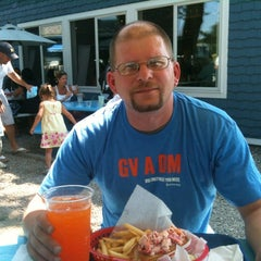 Photo taken at Bob's Clam Hut by Michael H. on 8/9/2012