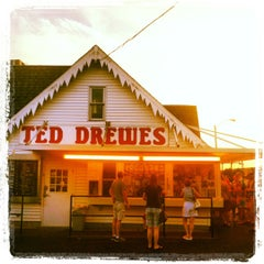 Photo taken at Ted Drewes Frozen Custard by Erin M. on 7/23/2012
