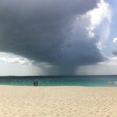 Photo taken at Club Med private beach by Iskra O. on 8/19/2011