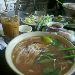 Photo taken at Pho Ha by S Dot .. on 12/24/2011