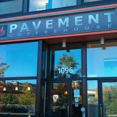 Photo taken at Pavement Coffeehouse by Jake S. on 8/23/2011