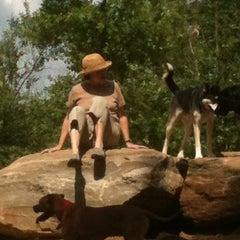 Photo taken at Piedmont Park Dog Park by Ashley on 5/14/2011