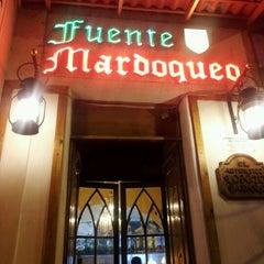 Photo taken at Fuente Mardoqueo by Daniela L. on 8/22/2012
