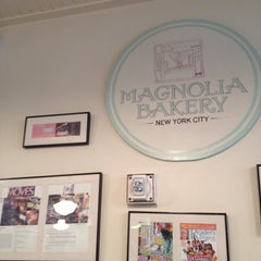 Photo taken at Magnolia Bakery by Paula G. on 4/12/2012