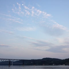 Photo taken at Marist Boathouse by Glenda B. on 7/7/2012