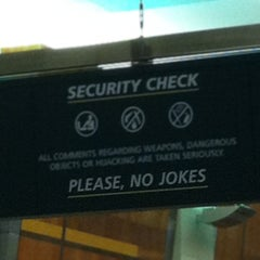 Photo taken at TSA Security by Shawn M. on 6/13/2012