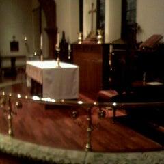 Photo taken at Trinity Episcopal Church by Alex D. on 10/16/2011