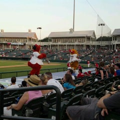 Photo taken at Dr Pepper Ballpark by Tiffany T. on 6/25/2012