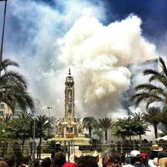Photo taken at Plaza de Los Luceros by Xavier M. on 6/20/2012