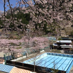 Photo taken at 小菅村役場 by Seiichi K. on 4/29/2012