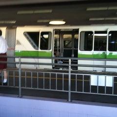Photo taken at Monorail Green by Jodi R. on 7/24/2011