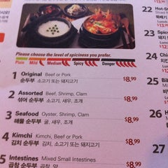 Photo taken at BCD Tofu House by Masa S. on 8/21/2011