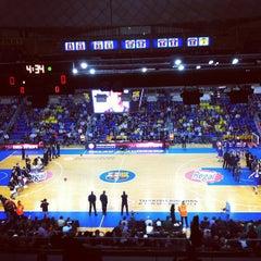 Photo taken at Palau Blaugrana by Ricard C. on 11/10/2011