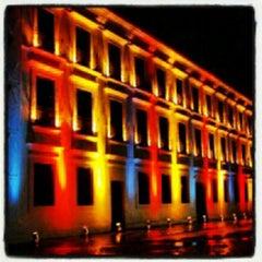 Photo taken at Casa das Onze Janelas by Antonio F. on 4/15/2012