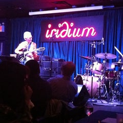 Photo taken at The Iridium by Rebecca R. on 9/11/2011