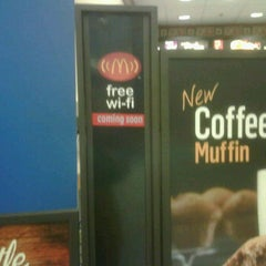 Photo taken at McDonald's in Walmart by Hendrik P. on 1/20/2012