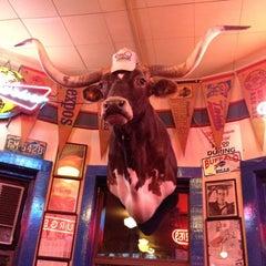 Photo taken at Hut's Hamburgers by Jen G. on 7/16/2012