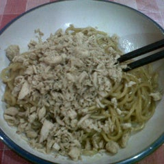 Photo taken at Mie Yamien Mang Ade by Debby A. on 1/3/2012