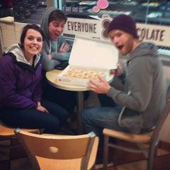 Photo taken at Krispy Kreme Doughnuts by David L. on 2/25/2012