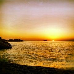 Photo taken at Kapuz Plajı by Fatih Y. on 8/21/2012