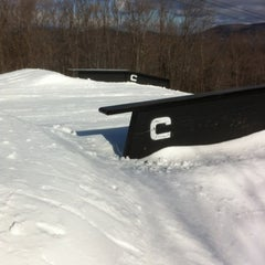 Photo taken at Carinthia Parks at Mount Snow by Dan G. on 2/4/2012