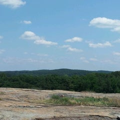 Photo taken at Arabia Mountain Trail by Casey on 5/6/2012