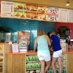 Photo taken at Tropical Smoothie Cafe by Bernice Y. on 5/6/2012