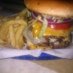 Photo taken at Big House Burgers by Amanda S. on 4/29/2012