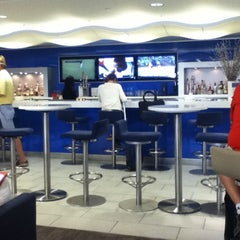 Photo taken at Delta Sky Club by J ason B. on 6/17/2012