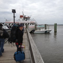 Photo taken at Cumberland Lady (ferry To Cumberland Island) by Chris T. on 3/10/2012