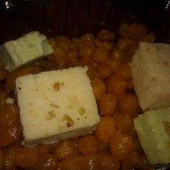 Photo taken at Haldi Chowk Indian Food Court by Xiomara C. on 8/9/2012