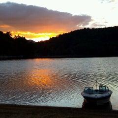 Photo taken at Lake Glenville by Stephen R. on 9/11/2012