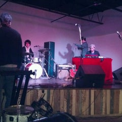 Photo taken at Café Eleven by Beau on 3/11/2012
