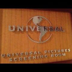 Photo taken at Universal Studio Screening Room by Aparna M. on 5/1/2012