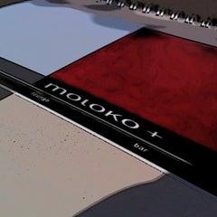 Photo taken at moloko+ by Chris S. on 3/24/2012