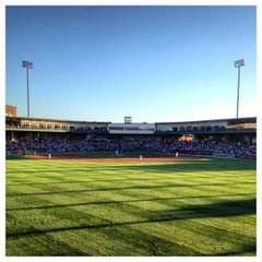 Photo taken at Dozer Park by j i m p. on 6/23/2012