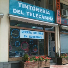 Photo taken at Tintoreria Del Telecabina by Pep A. on 5/30/2012