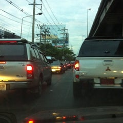 Photo taken at แยกแคราย (Khae Rai Intersection) by Suthira C. on 3/7/2012