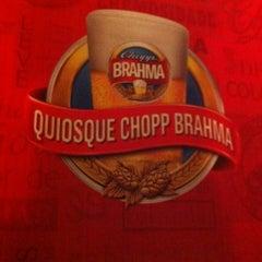 Photo taken at Quiosque Chopp Brahma by Empório do Pastel R. on 6/9/2012