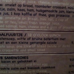Photo taken at Brasserie 't Ogenblik by Martin V. on 8/6/2012