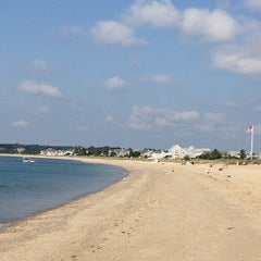 Photo taken at Craigville Beach by Carly H. on 9/1/2012