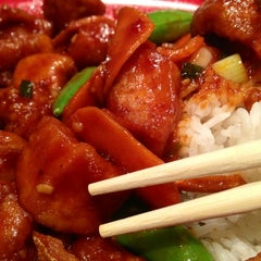 Photo taken at Pei Wei by Monica D. on 6/28/2012