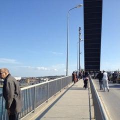 Photo taken at Pont de Bizerte by Zied E. on 2/19/2012