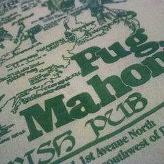 Photo taken at Pug Mahon's Irish Pub by Justin W. on 2/29/2012