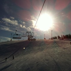 Photo taken at Levi Ski Resort by Anastasia K. on 3/25/2012
