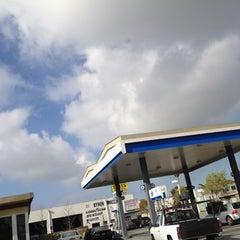 Photo taken at Chevron by Steven A. on 3/1/2012