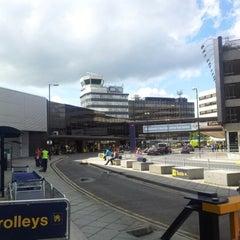 Photo taken at Manchester International Airport (MAN) by Swiftö B. on 8/20/2012