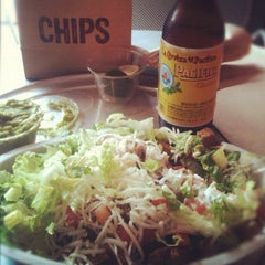 Photo taken at Chipotle Mexican Grill by Sal E. on 3/30/2012