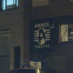 Photo taken at Annex Theatre by Marcia (@marciamarcia) C. on 9/21/2013